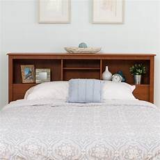 Queen Bookcase Headboard With Lights Shop Monterey Full Queen Bookcase Headboard Free