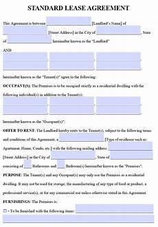 Free Rental Lease To Print Free Printable Rental Lease Agreement Templates Pdf Amp Word