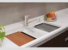 Lenova Ledge Prep Sink Brings Sleek Style, Functionality   Remodeling   Sinks, Kitchen, Products