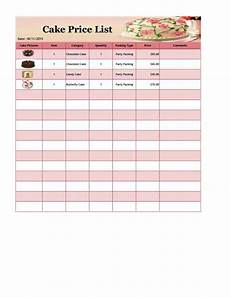 Template For Price List 26 Price List Templates In Word Amp Excel