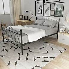 panana 3ft single metal bed frame solid bedstead base in