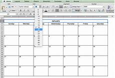 Calendar Excel Template 2020 Make A 2018 Calendar In Excel Includes Free Template