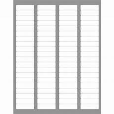 Avery 8167 Blank Template 4 000 Return Address Labels Compatible To Avery 5167 5267