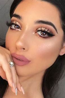 36 ideas how to use a gold glitter maquillaje de ojos