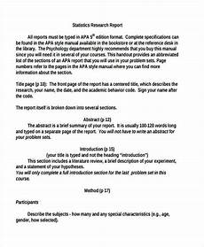 Research Report Example Free 14 Research Report Examples In Pdf Word Apple