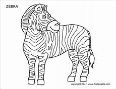 Zebra Template Printable Zebra Free Printable Templates Amp Coloring Pages