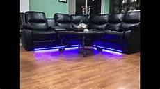 Couch Led Lights Led Lighting Under Sofa Youtube