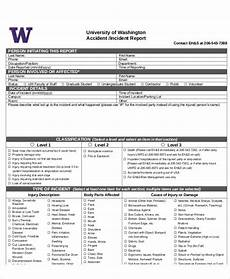 Incident Report Examples Free 13 Sample Accident Incident Reports In Ms Words
