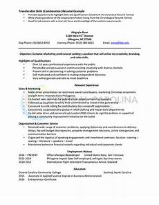How To Write A Combination Resume How To Write A Combination Resume Format Examples
