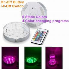 Under Table Led Lights 20pcs Aa Battery Operated Rgb Led Bulblite Lighting System