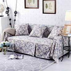 thickened sofa cover cotton linen furniture protector