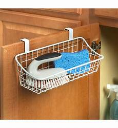white the cabinet wire basket in cabinet door organizers