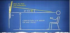 Wall Mount Tv Height Chart Best Height For Tv On Wall Google Search Electricals