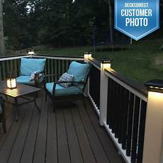 Trex Deck Post Solar Lights Solar Post Cap Light For Trex Transcends Post Sleeves By