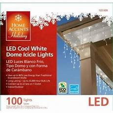 Home Accents Holiday Icicle Lights Amazon Com Home Accents Holiday 100 Light Led Cool White