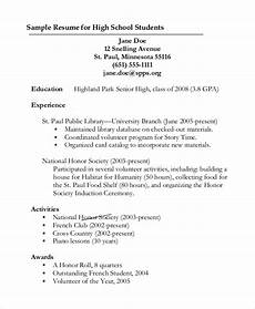 Sample Resumes For High School Graduates Free 9 Sample Graduate School Resume Templates In Pdf