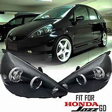 Honda Jazz Light Black Projector Head Lights Fit For Honda Jazz Gd 2002