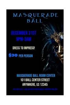 Masquerade Poster Template New Year Flyer Templates Postermywall
