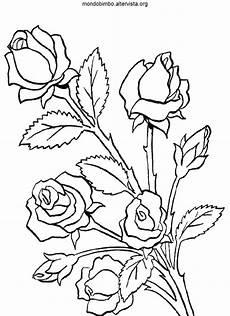fiori da disegnare vari tipi di fiori da colorare mondo bimbo con immagini