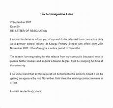 Resignation Letter In Word Resignation Letter Template 25 Free Word Pdf Documents