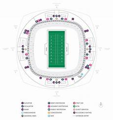 Saints Virtual Seating Chart Seating Chart Superdome New Orleans Saints Elcho Table