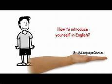 How To Introduce Yourself In An Interview How To Introduce Yourself In English Part 1 Job