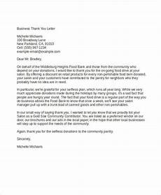 Sample Of Marketing Letters To Business Business Thank You1