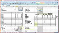 Estimate Format In Excel 8 Cost Analysis Spreadsheet Template Excel Spreadsheets