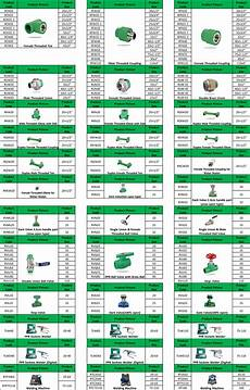 Sanitary Fitting Size Chart Zhsu Ppr Pipe Fittings Sizes Chart Buy Ppr Pipes And