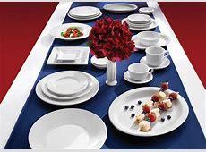 HLC Dinnerware: New ARCTIC WHITE, A True Classic