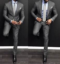 What Color Shirt With Light Gray Suit Top 30 Best Charcoal Grey Suit Black Shoes Styles For Men