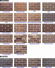 Boral Brick Chart Browns Amp Blacks From Belden Brick Co On Aecinfo Com