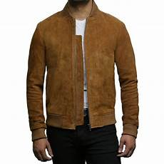 Light Brown Suede Jacket Mens Mens Leather Jacket Vintage Retro Tan Goat Suede Jacket Sonny
