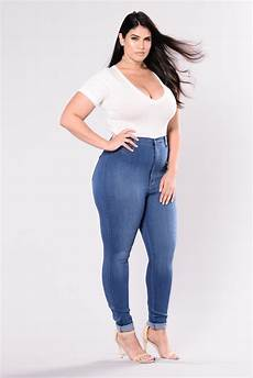 Fashion Nova Size Chart Classic High Waist Skinny Jeans Medium Blue
