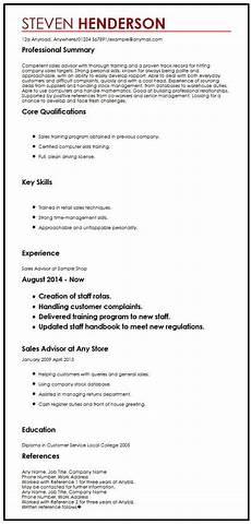 Reference Resume Example Cv Example With References Myperfectcv