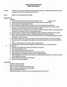 Grocery Store Cashier Job Description For Resume 10 Cashier Job Description For Resume Sample