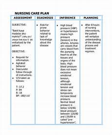 Nursing Care Plan Template Pdf Care Plan Template 16 Word Pdf Format Download Free