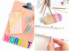 17 diy school supplies for back to school she