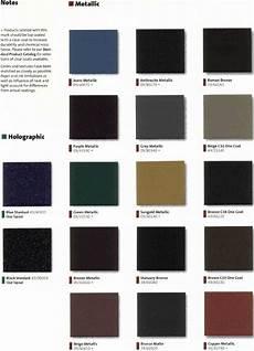 Powder Coat Colour Chart Nz Absolute Powder Coating Llc Color Charts