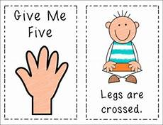 Give Me Five Rules Classroom Management Give Me Five Mini Posters By D