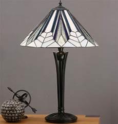 Art Deco Lighting Astoria Medium 2 Light Tiffany Table Lamp Art Deco Design