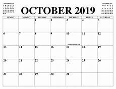 Print October 2020 Calendar October 2019 2020 Calendar Of The Month Free Printable