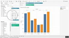 Dual Axis Chart In Tableau Creating A Combined Axis Chart In Tableau Youtube
