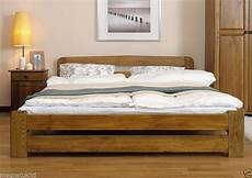new solid pine king size bed lidia frame 6ft option