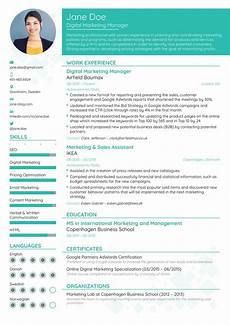 Resume Format Website What Is The Best Website To Create A Creative Resume Quora
