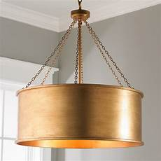 Copper Drum Light Fixture Luxe Patina Metal Drum Shade Pendant Large Shades Of Light