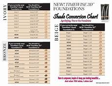 Mary Perfecting Concealer Color Chart Mary Foundation Color Conversion Chart Mary