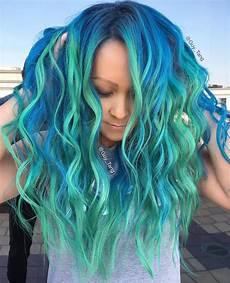 hair mermaid quot mermaid hair quot trend has dyeing hair into sea