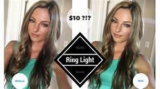 Ring Light Vs 10 Led Ring Light Does It Work Selfie Ring Light