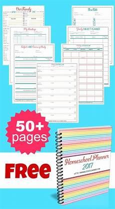 Free Printable School Planner Free Printable Homeschool Planner 2017